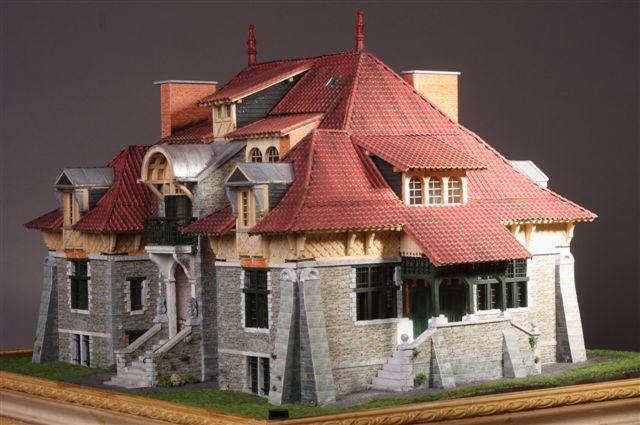 Sos vintage for Maquette d une maison